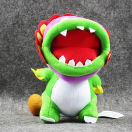 mario free stuff toys 2019 - 20cm Super Mario Cute Piranha Dragon Doll Plush Soft Stuffed Doll Toy for kids gift free shipping EMS discount mario fre