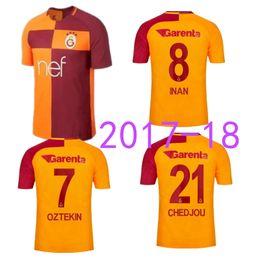 dbb74ddfaeb ... 2017 2018 Turkey Galatasaray Spor Kulubu SK Turchia club Galatasaray  Soccer Jerseys Home Away 17 18 Arda ...
