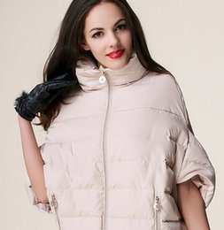 Bat Clothing Canada - Women's Clothing Winter Warm Women Bat Sleeve Down Coat Parka Cotton-Pad Jacket Outwear S-XL 7 color