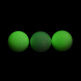 1Pcs Hot Sale Light-up Flashing Night Light Glowing Fluorescence Golf Balls Golfing Wholesale
