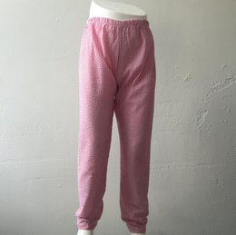 Boutiques De Vêtements En Chine Pas Cher-Conception de loisirs Red Stripe Seersucker Pantalons filles Pantalons usagés quotidiens Chine Boutique Vêtements Cheap Wholesale