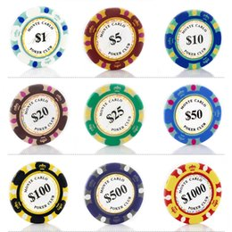 discount free clay poker chips poker chips 14g clay iron abs 3 colors crown casino chips - Clay Poker Chips