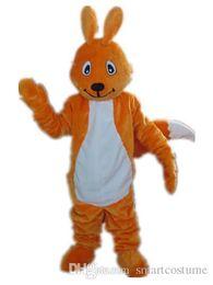 $enCountryForm.capitalKeyWord Canada - RH0420 an orange Squirrel mascot costume for adult to wear