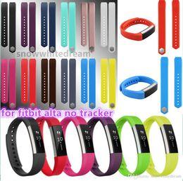 $enCountryForm.capitalKeyWord NZ - 2016 New hotting Replacement Wrist Band Silicon Strap Clasp For Fitbit Alta Smart watch Bracelet 13 color VS DZ09 U8