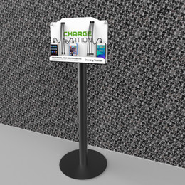 $enCountryForm.capitalKeyWord Canada - Tower Floor Stand Cell Phone Charging Station w  8 Universal Charging Tips Included for All Devices: iPhone, iPad, Samsung Galaxy, Note Tabl