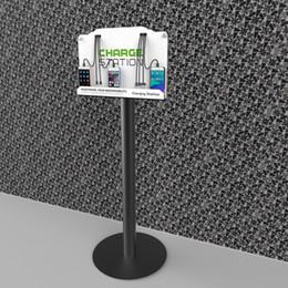 Großhandel Turm-Boden-Stand-Handy-Ladestation w / 8 Universal-Lade-Tipps für alle Geräte enthalten: iPhone, iPad, Samsung Galaxy, Hinweis Tabl
