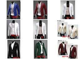 $enCountryForm.capitalKeyWord Canada - wholesale 2016 Spring and Autumn new men cultivating a buckle collar design casual suit coat jacket 35 colour