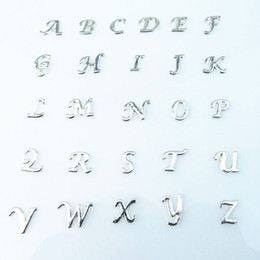 Floating crystals online shopping - floating charms high quality mix crystal letter charms diy A Z alphabet floating locket charms for living glass locket