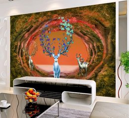 $enCountryForm.capitalKeyWord Australia - Customized animal 3d Wallpaper Mural Non-Woven Living Room Bedroom Wall papers Home Decor