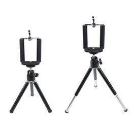 Wholesale Universal metal Mini Rotating Extendable Mini Tripod Stand Holder For Samsung Note Galaxy S5 iPhone S S for galaxy note DHL