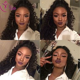 Weave Hairstyles For Black Hair Canada - Free Parting 7A Full Lace Human Hair Wigs for Black Women Indian Virgin Hair Loose Wave Lace Front Wigs Weave Wig Cap