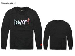 trukfit sweatshirt hoodie NZ - New trukfit sweatshirt pullover men long sleeve hot sale cotton free shipping hip hop hoodie man hip-hop fleece crew neck hoodie