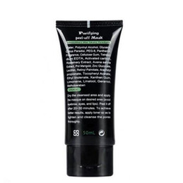 acne purifying peel off black mask Australia - SHILLS Black Mask Blackhead Remover Deep Cleansing Peel Off Black Mud Face Mask Purifying Peel Acne Black Heads Remover Pore Facial Mask
