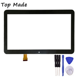 Discount inch tablet replacement - Wholesale- 10.1 Inch Touch Screen for DEXP Ursus TS210 Tablet Touch Panel digitizer Glass Sensor Replacement