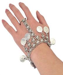 $enCountryForm.capitalKeyWord Canada - Bohemian Gypsy Love Affair Bracelet Antalya Silver Coin Statement Fringe Turkish Boho India Festival