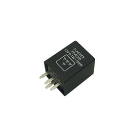 Discount electronics relays - LEEWA 4-Pin car Motorcycle Electronic LED flashers Turn Signal Relay Fix flasher #5352