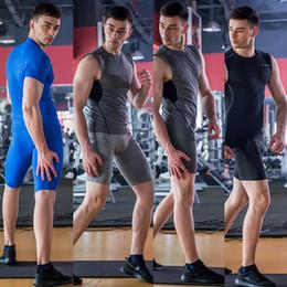 $enCountryForm.capitalKeyWord NZ - Athletic Tights Men's Sports GYM Compression Wear Under Base Layer Cycling Shorts