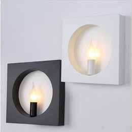 Modern Wall Mounted Light For Living Room Foyer Bed Room Dining Lamps  Bathroom Light Fixtures Square Indoor Lighting Wall Lamp Affordable Indoor  Wall Mount ...