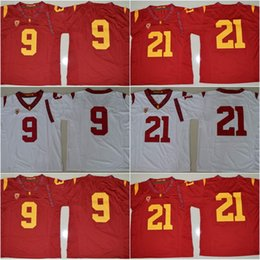 da677310723 ... USC Trojans 55 Junior Seau Red Jersey Youth USC Trojans Kids 9 JuJu  Smith-Schuster USC Trojans 55 Junior Seau White NCAA Football ...