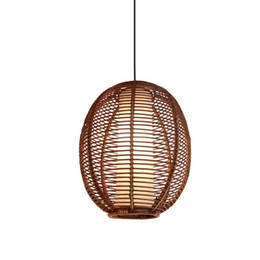 Lights & Lighting Southeast Asia Rattan Pendant Lights Creative Conch Pendant Lamps For Tea Room Restaurant Coffee Bar Art Deco Lighting Fixtures