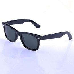 07833d4c5aa AOOKO Hot Sale Men Glass Gray Dark Green lens Sun Glasses Outdoor UV  Protection Women oculos de sol masculino 901 901S Sunglasses 50 52 54mm