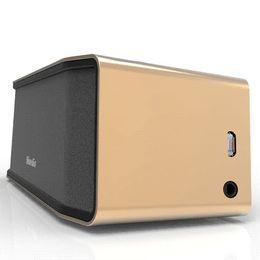 Surround Sound Speaker Mini Canada - Bluedio BS-2 (Camel) Mini Bluetooth speaker Portable Wireless speaker Sound System 3D stereo Music surround(gold) Cheap speaker buzzer