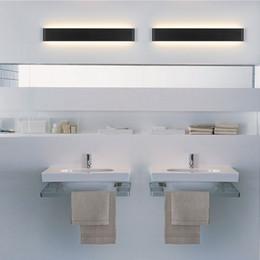 AC 85 265V Modern Minimalist Wall Lamp LED Bedside Lamps Living Room Bedroom Hallway Creative Before The Bathroom Mirror Lights