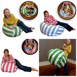 2018 Baby Bean Bag Chairs Wholesale Stuffed Animal Storage Chair Kids Bedroom Organizer Plush