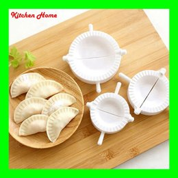 pie mold press dough tools Canada - 3Pcs Set Dumplings Maker Plastic Tools Jiaozi Pie Ravioli DIY Machine Pastry Tools Dough Press Dumplings Maker Mold