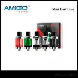 top fill tanks NZ - Genuine Amigo Mini East Pearl Tank 1.6ML Z-Tech Coil System 18MM Top Filling Mini East Pearl Free Shipping
