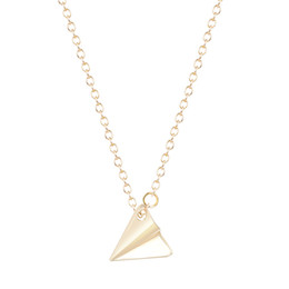 $enCountryForm.capitalKeyWord UK - 10pcs lot New Arrival One Direction Silver Paper Plane Pendant Long Chain Necklace Female Accessories Wholesale China