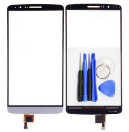 lg white screen NZ - 100% Tested Black White New Touch Screen Digitizer replacement For LG G3 Stylus D690 + Free Tool+ Free Shipping