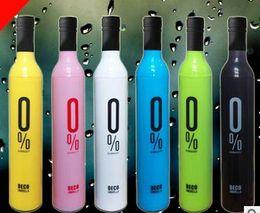 $enCountryForm.capitalKeyWord Canada - DHL Free Shipping Wholesale 100pcs lot Fashion Creative Bottle Umbrella  Wine Bottle Umbrella