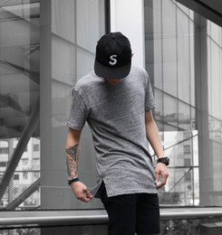 $enCountryForm.capitalKeyWord NZ - Long High Low Tee New 2016 Fashion Hip Hop Man Summer Tops T-shirt T Shirt Men Tyga Swag Clothing Clothes Kanye West