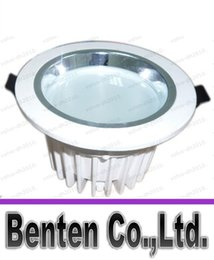Round die online shopping - Led downlight Recessed ceiling lights AC85 V W inch die casting downlight LLFA11