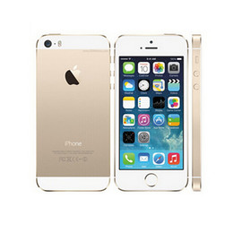 "unlock iphone wifi 2020 - 100% Original Refurbished 5s with Fingerprint Unlocked Smartphone 4.0"" Dual Core 16GB 32GB ROM IOS 9 3G WIFI 8MP ca"