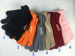 touch fingers 2019 - Men women big kids iGlove Capacitive Touch Screen Gloves For Unisex Warm Winter For iphone for ipad for smart phone (2pc
