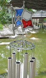 $enCountryForm.capitalKeyWord NZ - Grace Deep Resonant Sound Relaxing Windchime Metal Alloy Chapel Church Bells Wind Chimes Long Aluminum Tube Silver Antique Crafts Home Decor
