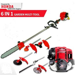 chain blade 2019 - 2019 Model Thailand GX35 Motor Multi petrol Brush cutter,chain Saw,pole hedge trimmer 5 in 1 cheap chain blade