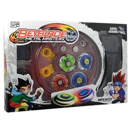 $enCountryForm.capitalKeyWord Canada - Metal Fusion Master Masters Beyblade Fight Launcher Rare Toy Set 4D for Children