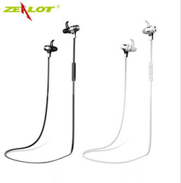 China ZEALOT H2 Wireless Sport Earphone Best Quality 4.0 Bluetooth Self-timer MP3 Phone Call Support Black and White Colors suppliers