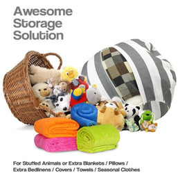 $enCountryForm.capitalKeyWord Australia - 3 Colors 55cm Kids Storage Bean Bags Plush Toys Beanbag Chair Bedroom Stuffed Animal Room Mats Portable Clothes Storage Bag CCA7873 100pcs