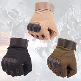 $enCountryForm.capitalKeyWord NZ - Brand-OKL US Army Tactical Gloves Outdoor Sports Full Finger Combat Motocycle Slip-resistant Fiber Tortoise Shell Military Cycling Mittens
