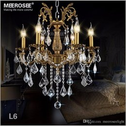Traditional brass chandeliers nz buy new traditional brass 6 lights bronze color crystal chandelier light fixture brass finish crystal lustre lamp villa cristal lighting aloadofball Image collections
