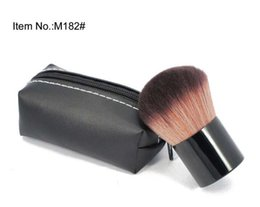 China 20 PCS FREE SHIPPING HOT good quality Lowest Best-Selling good sale MAKEUP New Products 182 powder blush Brush With Leather Bag & GIFT suppliers