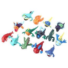 Chinese  14PCS 3-7cm Cute Lots Slugterra Slager Elf Mini Random Figures Toys Creative manufacturers