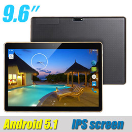 9.6 pulgadas IPS 3G Phablet Tablet PC Quad Core (falso MTK6592 octa core 4GB 32GB) Bluetooth GPS Dual SIM T950s