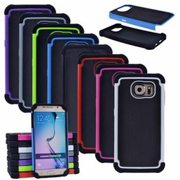 Cove Case Canada - Hybrid Executive Armor Cases Heavy Duty 2 iN 1 PC Silicone Back Cove For Samsung Galaxy S6 S7 S8 Plus Case Note 5