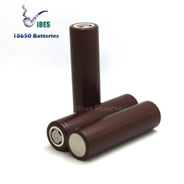 Mod stickers online shopping - 100 High Quality HG2 Battery mah A Purple Rechargeable Lithium Batteries Fit Ecig Box Mods LG Battery Sticker Wrapper