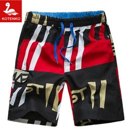 Maillots De Bain En Coton En Gros Pas Cher-Grossiste-Men Shorts Sport Brand Cotton Men Beach Shorts Surf Boardshorts Summer 2016 Maillots de bain Casual Quick Drying Bermuda Masculina
